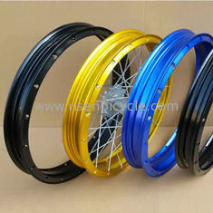 "China Tubeless motocross Aluminum Alloy Rim ,17""/18"" motorcycle tubeless wheel supplier"