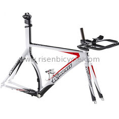 China 700c  Time Trial Aero Road Racing Frame+Fork set KINESIS KT620 Cycling Performance Ironman Frame Trianthlon TT 1.53KG supplier