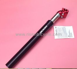 China Bicycle Hydraulic Suspension Seatpost Aluminum Alloy seat post Different Diameter Customized Logo Soft Travel supplier