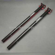 China Zero Offset Carbon Fiber Seatpost of Folding Bike 33.9/580 or 34.9/580mm High Strength 3K Seat Post supplier