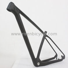 China 29er Carbon Mountain Bike Frame of T800 Carbon Fiber 12 mm Thru-axle BB30 Tapered Headtube supplier