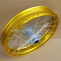 "China Motorcycle 2.15x17"" Aluminum Alloy Tubeless Spoked Rim  Seamless 28/32/36 Holes of Motocross Wheels supplier"