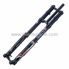 China Mountain Bike 8 inch Dual Crown Inverted Downhill Suspension Fork DNM USD-8 supplier