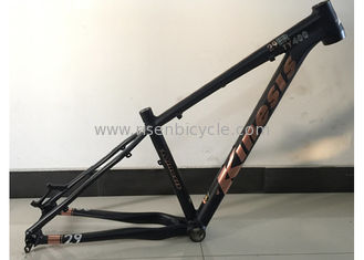 "China 29ER Aluminum 7046 Alloy XC Hardtail MTB Frame of Mountain bike Frame 29"" / 1600g tapered tube 12X142 axle supplier"