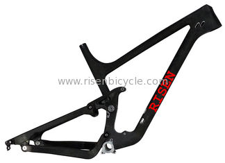 "China 27.5"" Plus Full Carbon 5"" XC/Trail Suspension Mtb Frame of Mountain Bike 120mm travel Lightweight Cycling Bike Tapered supplier"
