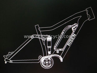 China Boost 27.5er Electric Bike Frame w/ Bafang 1000w  Aluminum Alloy Suspension Mtb E-Bike supplier