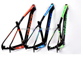 "China 29ER Lightweight Full Carbon MTB Frame V29 of Mountain Bike 15.5""/17.5/19/21"" BB92 Tapered, Seatpost 31.6mm Weight 1270g supplier"
