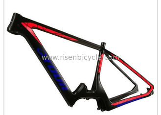China 27.5er Carbon Fiber Ebike MTB Frame Fits with Bafang Mid-Drive System supplier