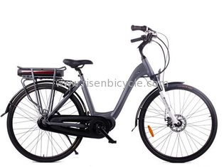 China Ec Certified Electric City Bike With Bafang Mid Drive Motor System supplier