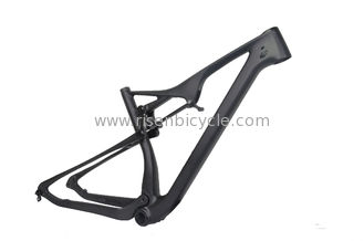 China 29er XC Full Suspension Carbon Bike Frame 27.5 Plus Carbon Mountain Bike Mtb Frame supplier