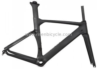 China 700c Road Carbon Bike Frame Racing 1150kg OEM Matte/Glossy Full Carbon With Fork supplier