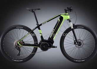 China Full Carbon Electric Bike Mid-drive Bafang Mountain Bike 36V/350W Integrated supplier