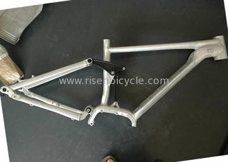 China Bafang 250/350w Aluminum Full Suspension Electric Bike Frame 27.5er E-bike supplier