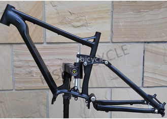 China 27.5er Boost Aluminum Full Suspension Electric Bike Frame Bafang 1000w Ebike supplier