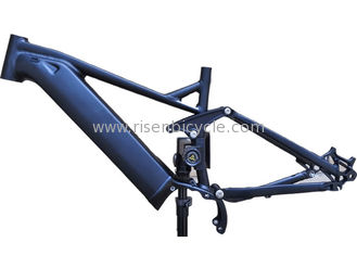 China Shimano E8000 Full Suspension Ebike Frame Electric Aluminum Mountain Bike Mid-Drive supplier