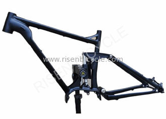 China 29er Full Suspension Electric Bike Frame Aluminum Enduro Fits Bafang 1000W Ebike supplier