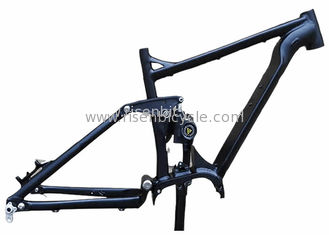 China Full Suspension Electric Bike Frame Boost 27.5 Plus/29er  mid drive Bafang 1000w Ebike supplier