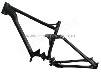 China 27.5er Boost Electric Full Suspension Frame Aluminum E-bike Enduro Emtb supplier