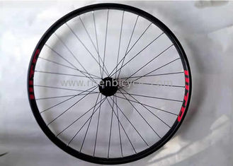 China Mountain Bike Wheelset 27.5er Boost Front Wheel 35mm Width Rim 32H 110x20 Dropout supplier