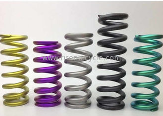 China Bike Shock Titanium Compression Spring, Bike TC4/GR5 Titan Coil Spring supplier