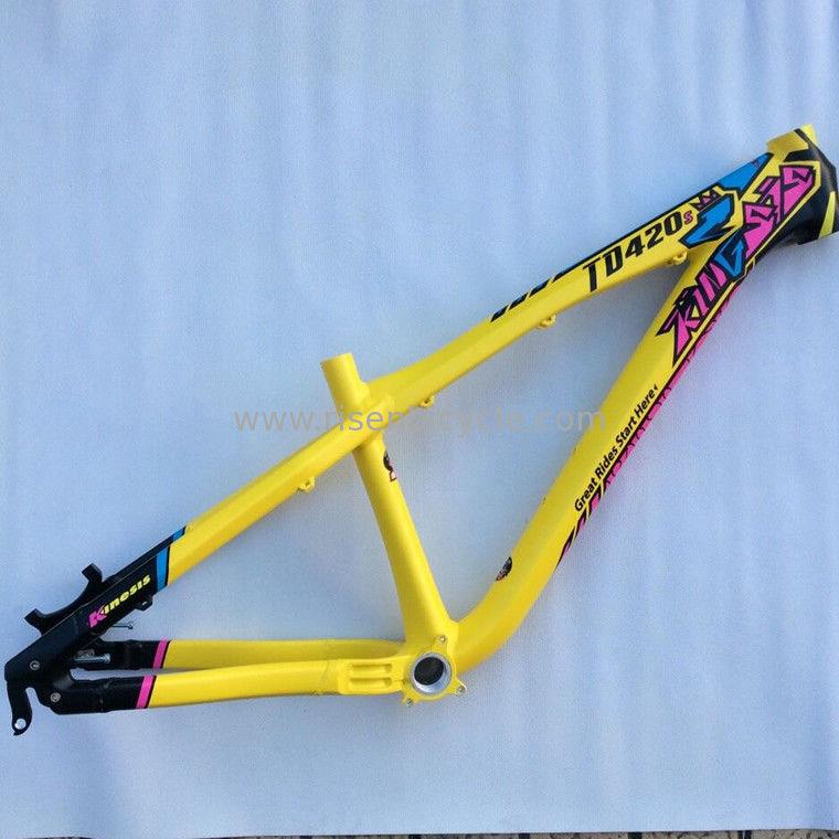 TD420S Dirt Jump Aluminum Alloy Frame, Slope/4x All Mountain Bike ...