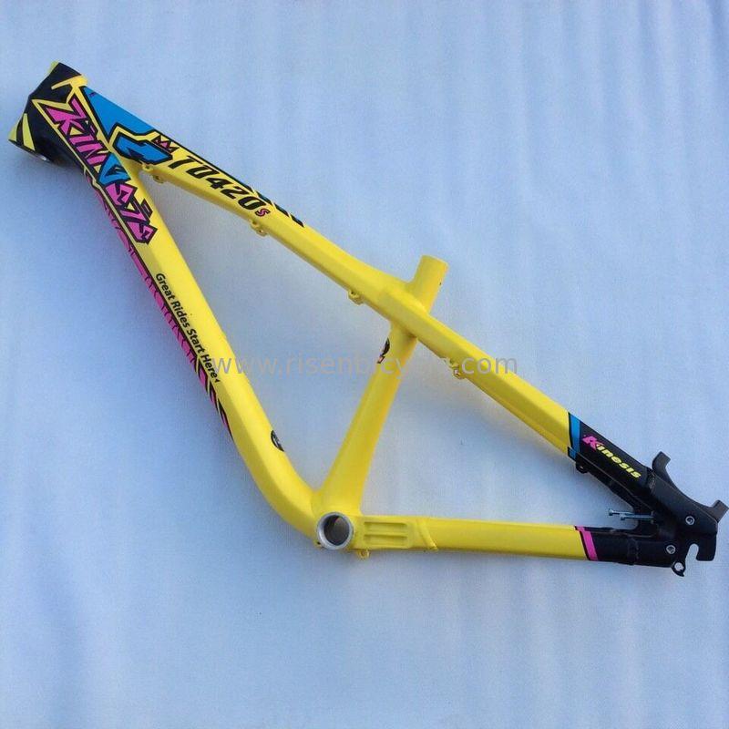 china kinesis td420s 26 professional dirt jump mtb bike frame al7005 alloy spf 100 - Dirt Jumper Frame
