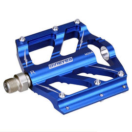 China Bicycle CNC processed Pedal Aluminum Alloy Big flatform Lightweight Sealed bearing Pedal distributor