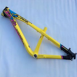 China 26er Dirt Jump Aluminum Bike Frame Mountain Bike 100-130mm Hardtail Mtb Frame distributor