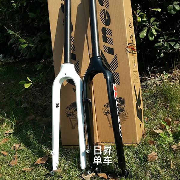 "29er MTB mountain bike disc brake bicycle front rigid alluminium fork 27.5/"" in"