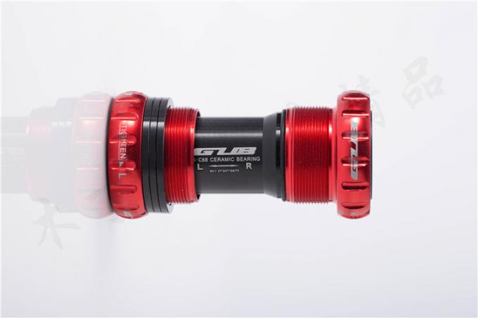 High End Thread Ceramic Bottom Bracket Sealed Bearing 68-73mm  MTB/Road Bicycle Axis Customized Logo.