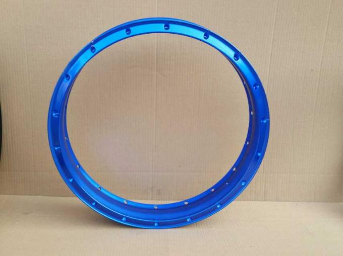"Motorcycle Aluminum Alloy Tubeless Spoked Rim 1.85x17""  Seamless 28/32/36 Holes of Motocross Wheels"