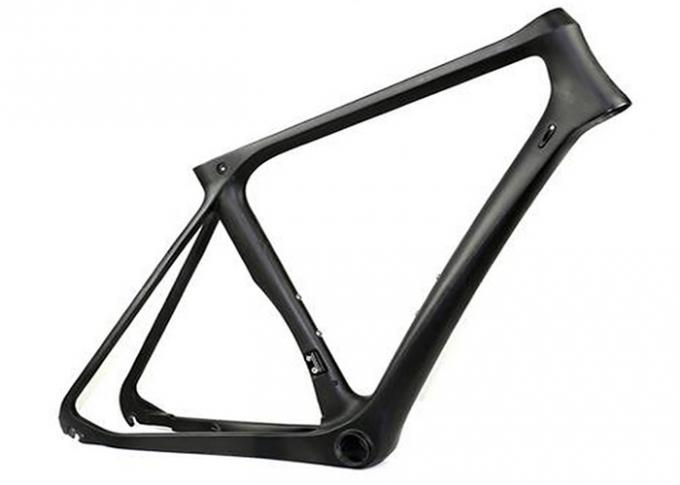 Lightweight 700c Full Carbon Fiber Road Bicycle Frame of Road Bike Frameset  9qr/Thru-axle 1000g/52 size Disc Brake