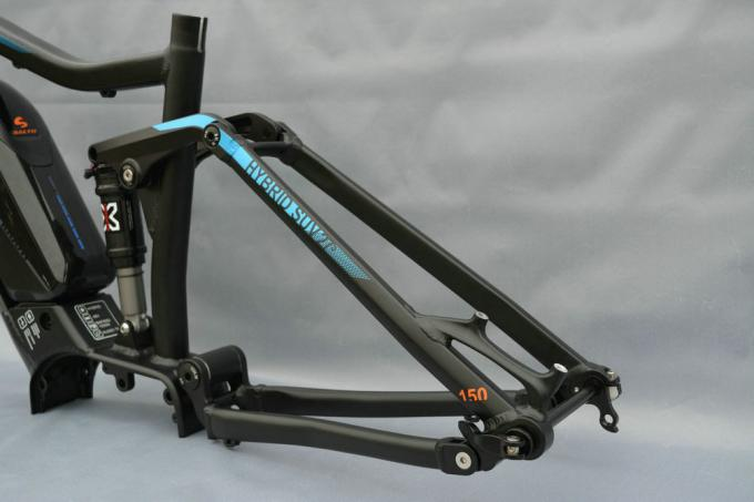 27 5 Aluminum E Bike Suspension Mtb Frame 150mm Travel