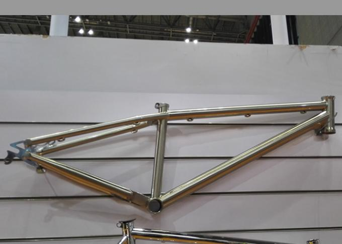 "26"" Chromolly Steel Dirt Jump Frame of Mtb Dj Frame Bmx/Slope/Freestyle 135x10 dropout BB68 bicycle OEM BRAND"