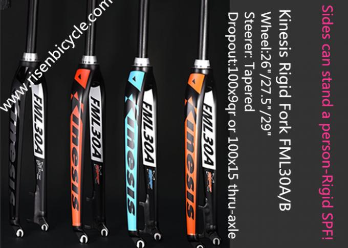 Lightweight MTB Rigid Fork FML30A 26/27.5/29ER Aluminum Alloy Dropout 9qr Tapered Bicycle Fork