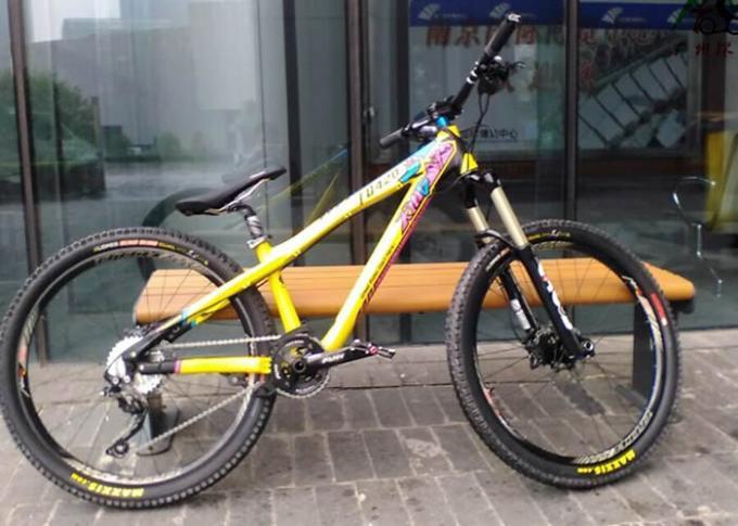 26 27 5er Aluminum Bike Frame Bmx Dirt Jump Dj Mountain