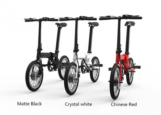 "CE 16"" Electric Folding Bike/Bicycle 200-250w Brushless Lithium Battery Powered"